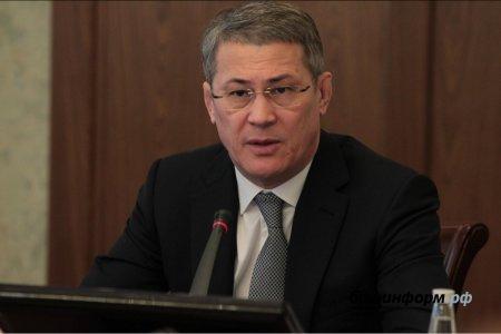 Радий Хабиров назвал нацпроекты Путина беспрецедентной возможностью для рывка Башкортостана
