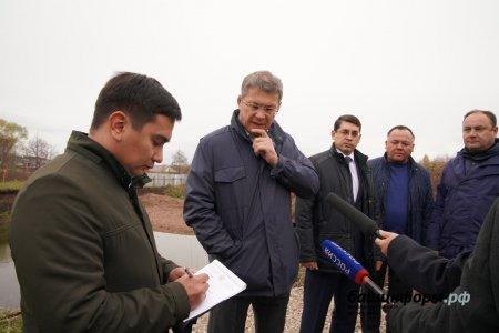 Радий Хабиров находится в рабочей поездке по Стерлибашевскому району Башкортостана