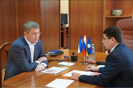 Радий Хабиров провел выездной «Час главы» в Стерлибашевском районе