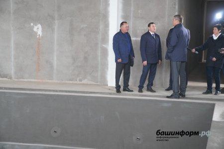 В селе Федоровка планируют открыть бассейн в ноябре 2019 года