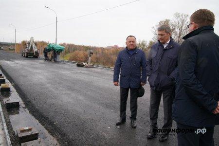 Мост в селе Кирюшкино Федоровского района Башкирии будет сдан в ноябре