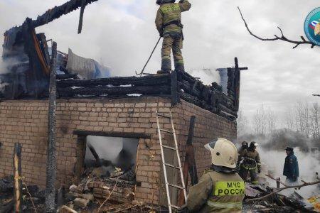 В Башкортостане в сгоревшем садовом доме найдено тело 9-летней девочки