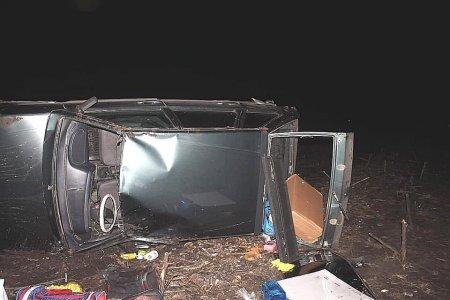 Ночью в Башкортостане опрокинулся автомобиль: погиб 32-летний водитель