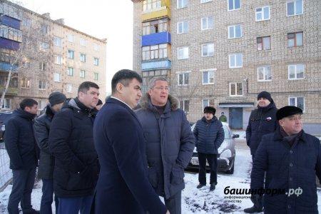 Глава Башкортостана показал двор, где прошли его детство и юность
