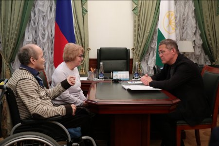 Радий Хабиров провел первый личный прием граждан