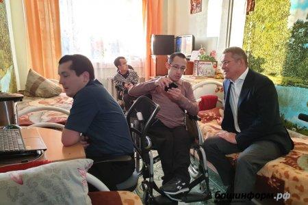 В Буздякском психоневрологическом интернате оборудовали учебную квартиру для инвалидов