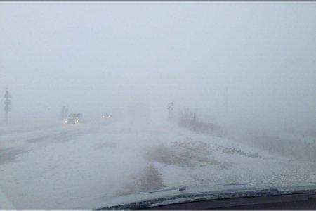 На севере Башкортостана в новогоднюю ночь ожидается сильный снегопад
