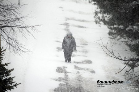 Внимание, усиление ветра и гололёд! - предупреждает МЧС по Башкортостану