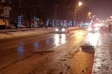 В Уфе 23-летний пешеход погиб от двойного наезда автомобилей