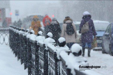 В начале новой недели жителей Башкортостана ждут метели, снежные заносы и гололед