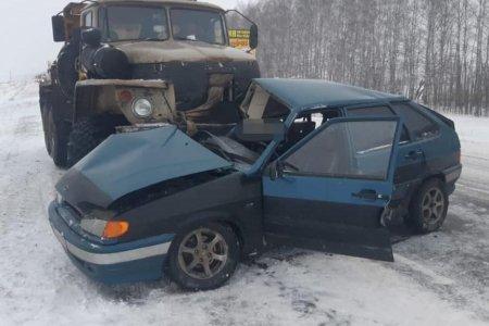Два человека пострадали в ДТП в Башкирии из-за непогоды
