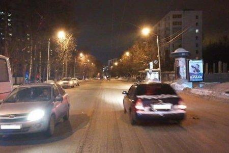 В Уфе 72-летнего пешехода сбили сразу два автомобиля