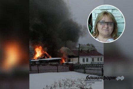 В Башкортостане женщина получила 90% ожогов тела, вернувшись в горящий дом