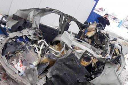 В Башкортостане на газовой заправке взорвался автомобиль