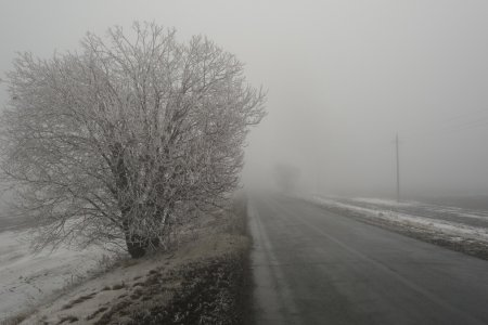 Синоптики Башкортостана предупредили жителей о гололедице, заносах и тумане