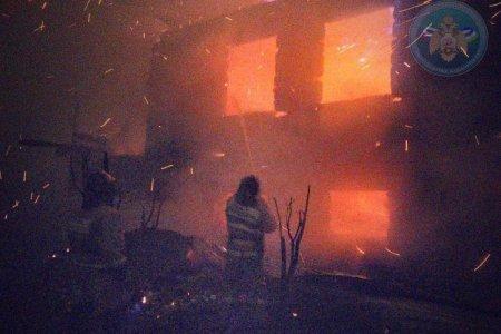 В Башкортостане игра детей со спичками привела к крупному пожару в жилом доме