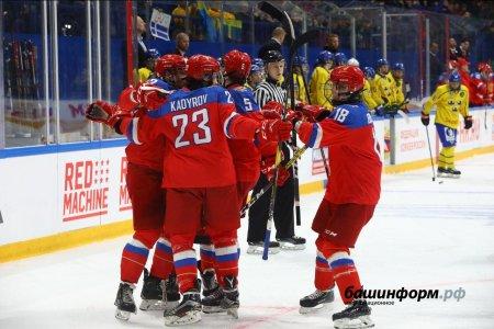 Россия на «Уфа-Арене» одержала победу над Швецией