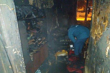 В Башкортостане в сгоревшей квартире найдены тела мужчины и женщины