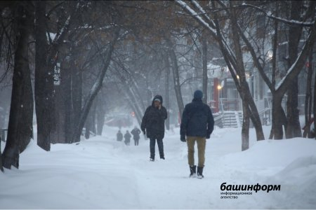 Жителей Башкортостана предупреждают о сильном ветре, дожде со снегом и гололеде