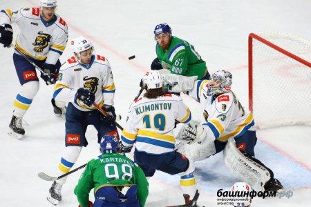 «Салават Юлаев» дома обыграл «Сочи» и официально вышел в плей-офф КХЛ