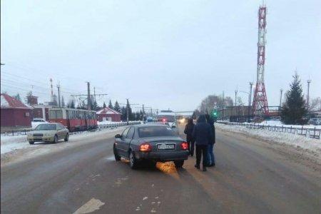 В Башкортостане Hyundai Sonata наехала на пешехода