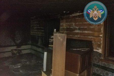 В Башкортостане при пожаре в жилом доме один ребенок погиб, еще двое госпитализированы