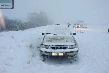 В Башкортостане под колесами Daewoo Nexia погиб лежавший на дороге мужчина