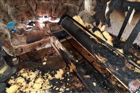 В Башкортостане при пожаре в жилом доме погибла пожилая женщина