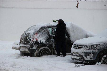 МЧС Башкортостана предупреждает о «сильной буре»