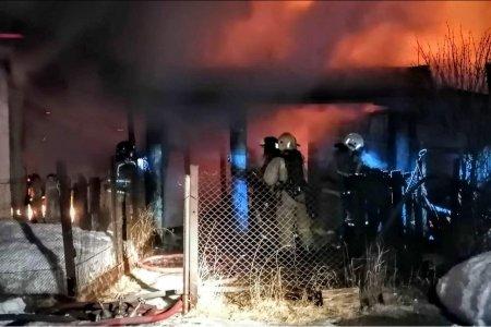 В башкирском Белорецке 8 марта в пожаре погибла женщина