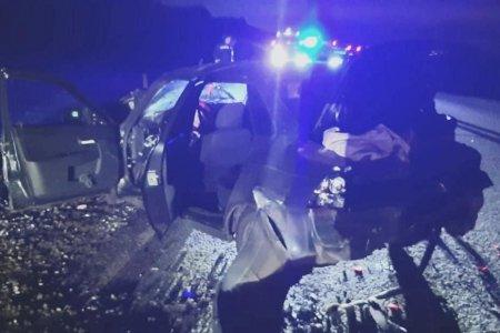 В Башкортостане на трассе столкнулись три автомобиля, есть пострадавший