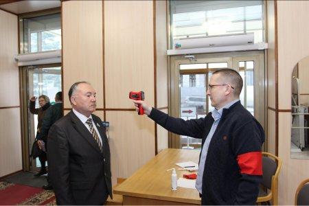 В Госсобрании Башкортостана введены особые меры профилактики в связи с коронавирусом