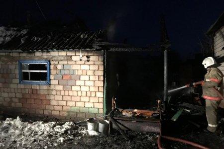 В Башкортостане пожарные нашли тела двух сгоревших мужчин