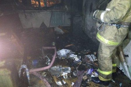 В Башкортостане спасенная из горящего дома женщина скончалась в машине «скорой»