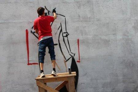 В Уфе стартовал ежегодный конкурс граффити, посвященный Великой Победе