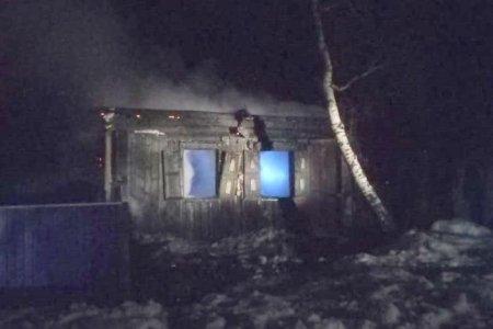 В Башкортостане два человека погибли при пожаре в жилом доме