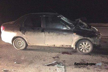 В Башкортостане молодожены погибли под колесами автомобиля