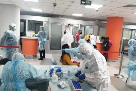 Со стороны выглядит эпично: как встречают пассажиров в аэропорту Уфы из-за коронавируса