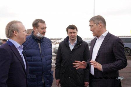 Строительство новой инфекционной больницы в Уфе будет закончено в июне - глава Башкортостана