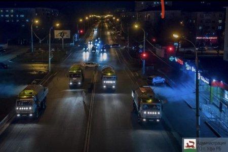 Стало известно, какие еще улицы продезинфицируют в Уфе