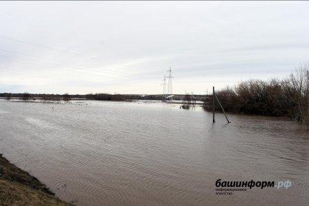 В Белорецком районе в связи с паводком закрыто движение автотранспорта