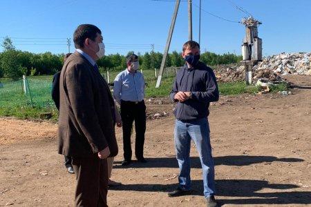 Нияз Фазылов ознакомился с работой полигонов твердых коммунальных отходов