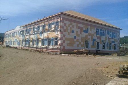 В селе Лаклы Салаватского района  ведется строительство школы на 80 мест с совмещенным  детским садом на 40 мест