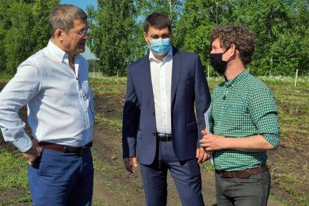 Рабочая поездка в Кушнаренковский район