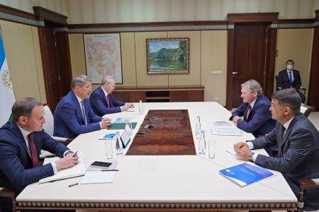 Рабочая встреча с Уполномоченным при Президенте России по защите прав предпринимателей Борисом Титовым