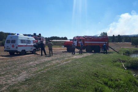 Жителей деревни Кулганино предупреждают о росте задымления из-за борьбы с лесным пожаром