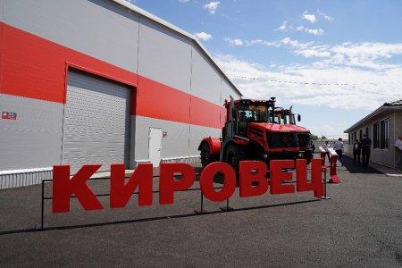 В Кармаскалинском районе открыли дилерский и сервисный центр «Кировец-Уфа»