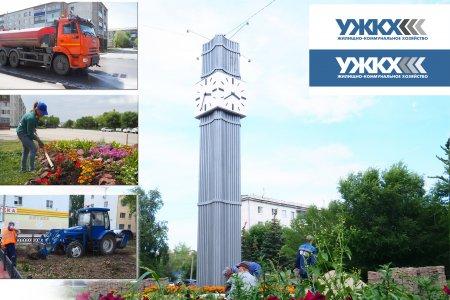 В Сибае активно идет благоустройство микрорайона Горный